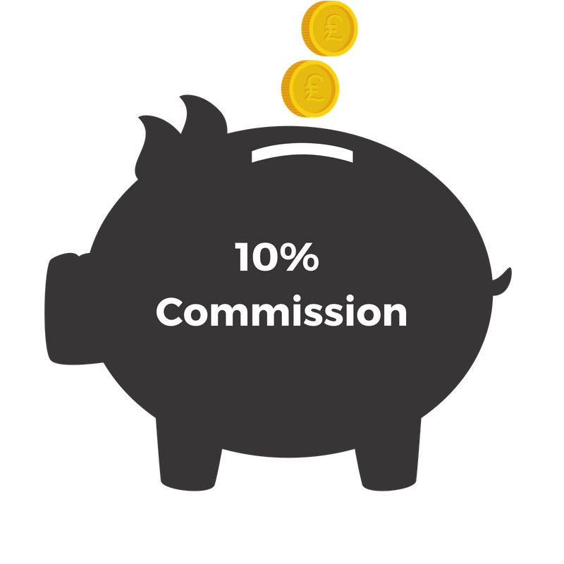 10% merchandise club commission