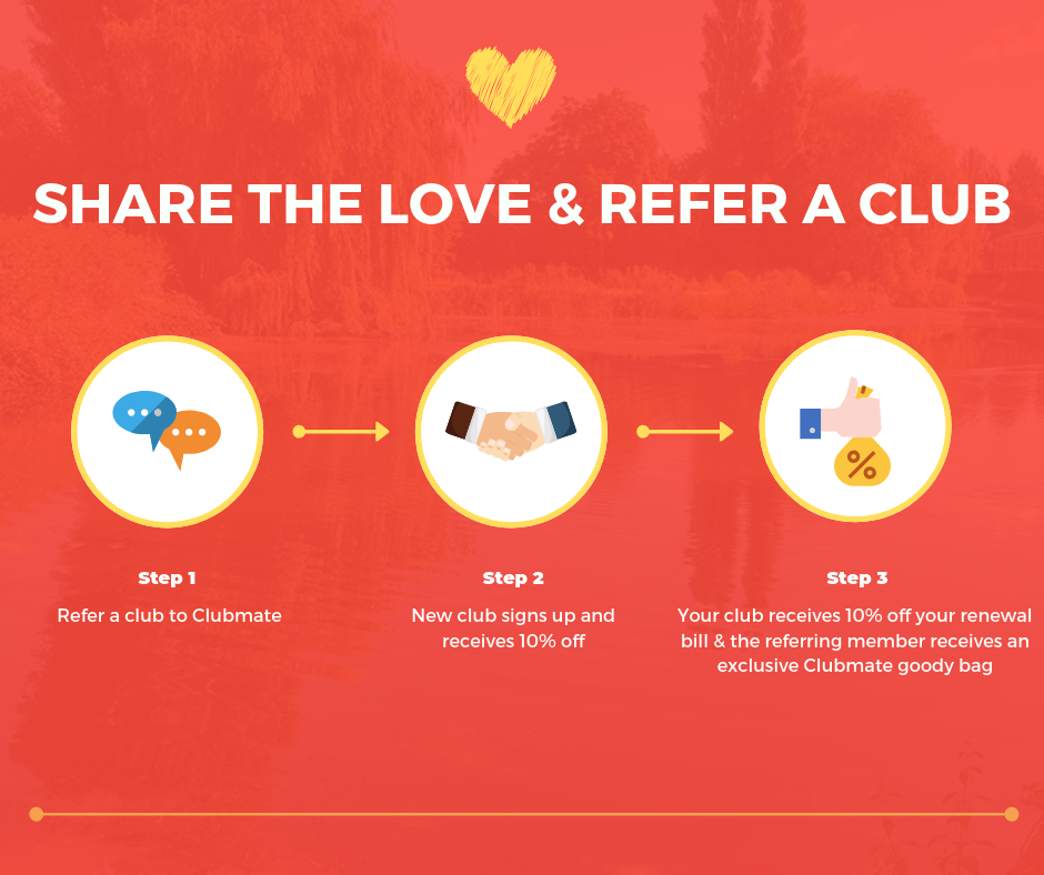 Refer a club - blog