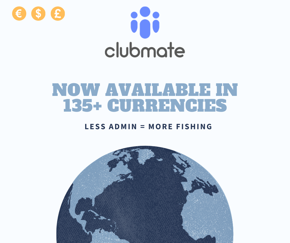 Clubmate now available Worldwide