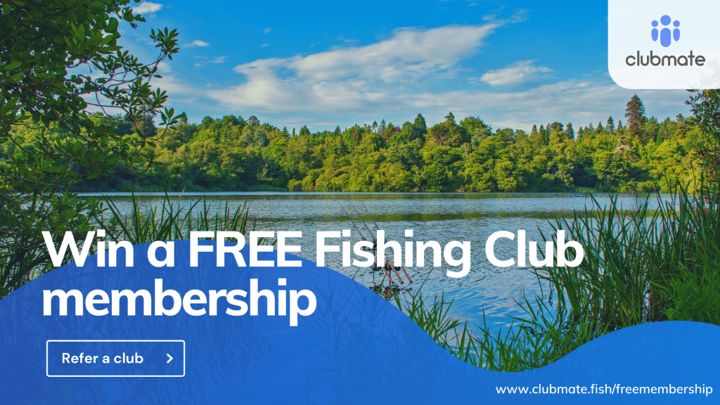 Win a FREE membership at your fishing club!