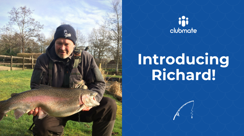 Introducing our newest recruit, Richard!