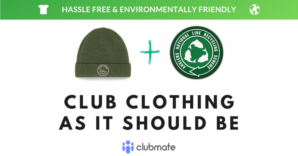 Clubmate launches environmentally-friendly fishing club clothing